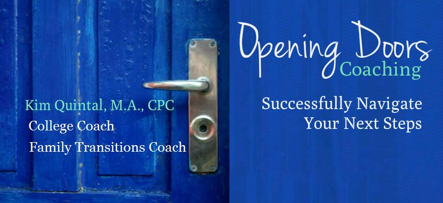opening doors site title slide